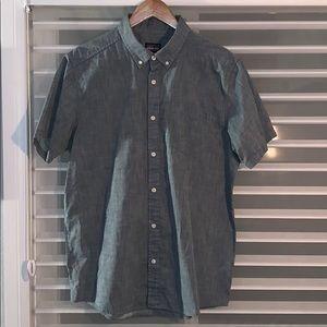 Patagonia s/s chambray shirt, blue, s L